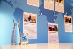 MADE BLUE water op kantoor bij i-team