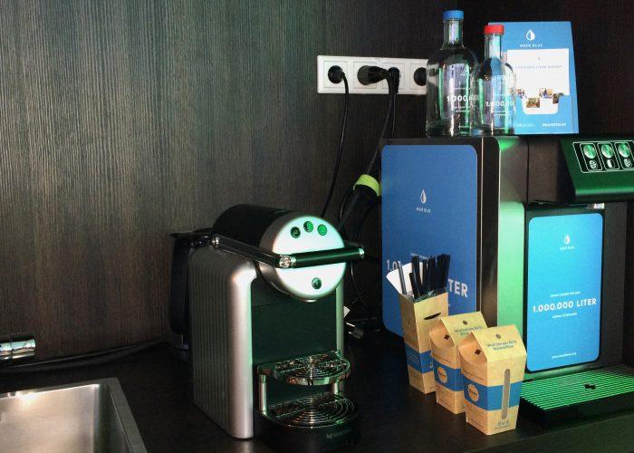 Made Blue waterkoeler op kantoor bij Nedelko