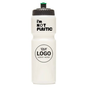 750 ML, bioplastic, rondom bedrukbaar