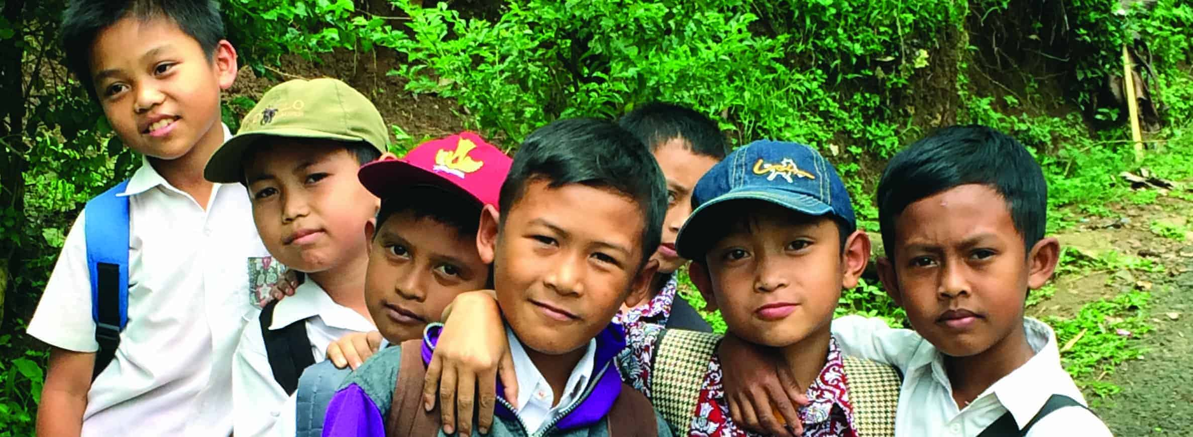 MADE BLUE project Gouden Wijken op West-Java