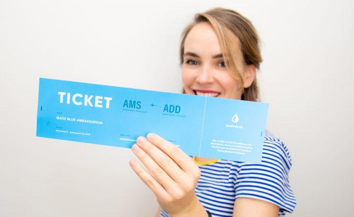 MADE BLUE goes Africa - Ethiopië - reis - ticket