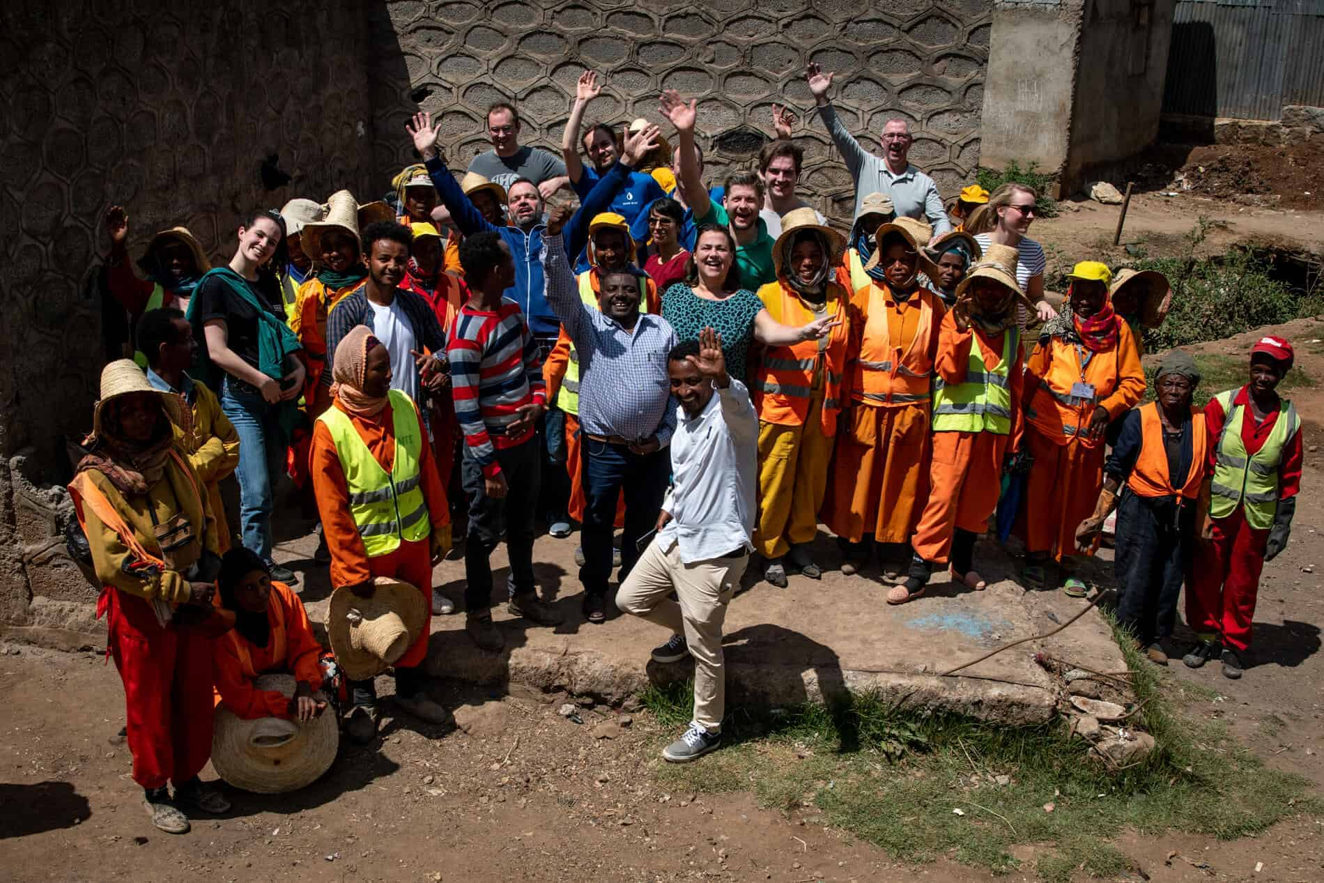 MADE BLUE - Dag 1 - Impactreis Ethiopië - Foto: Anne Harteman