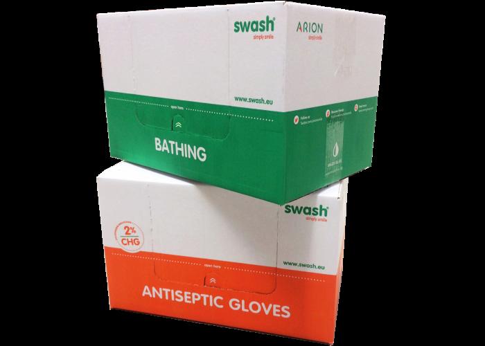 Elke verpakking Swash van Arion zorgt voor 1 liter schoon drinkwater.
