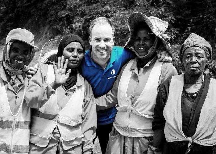 Machiel van Dooren bezoekt ons waterproject in Ethiopië.