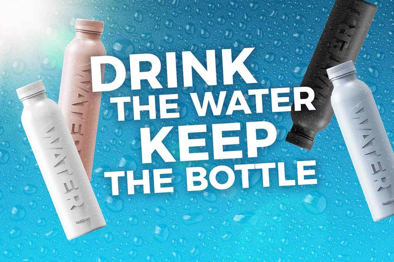 Bottle Up is ambassadeur van MADE BLUE en doneert 100 keer de inhoud van elke fles als schoon drinkwater